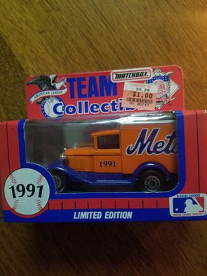 1991 Mets Limited Edition Matchbox Team Collectibles for Sale in Newburgh, IN