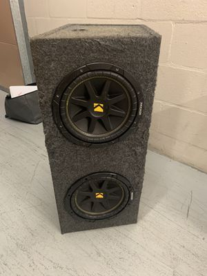 Kicker 10in subs for Sale in Melbourne, FL