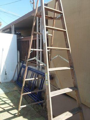 Wood ladder for Sale in Bakersfield, CA