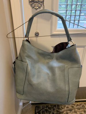 Grey leather Hobo Bag for Sale in Fairfax, VA
