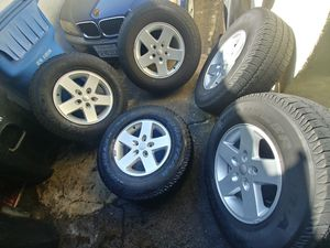 Jeep Wrangler Wheels for Sale in Pomona, CA