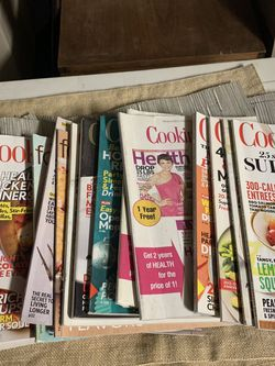 FREE Cooking Magazines for Sale in Rancho Cucamonga,  CA