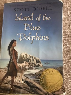 Book: Island of the Blue Dolphins by Scott O'Dell, paperback for Sale in Miami, FL
