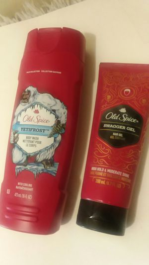 MEN'S OLD SPICE BUNDLE HAIR& BODY for Sale in Wilmington, DE