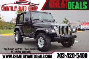 2005 Jeep Wrangler for Sale in Chantilly, VA