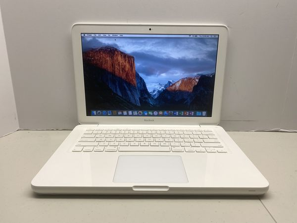 "Macbook 13"" late 2009, Intel Core 2 Duo, 2.26 GHz, 4 GB RAM, 120 GB SSD, Wireless Wifi, Webcam, DVDRW, OSX El Capitan, Microsoft Office 2016 f"