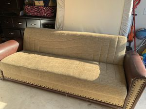 New sofa bed/Futon with storage unit for Sale in Lawton, OK