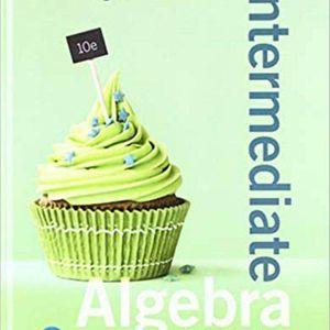 Intermediate Algebra For College Students 10th Edition ebook PDF for Sale in Ontario, CA