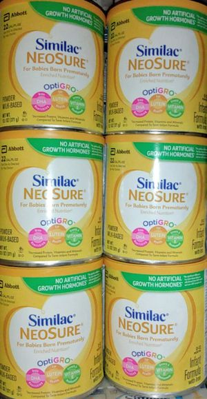 Similac Neosure/13 available Expire until 2021,2022 for Sale in Los Angeles, CA