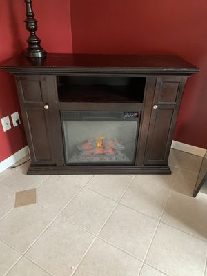 Electric fire place and TV stand for Sale in Toms River, NJ