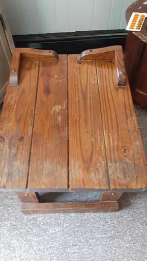 Used Vintage Wooden End Table for Sale in Lost Creek, PA