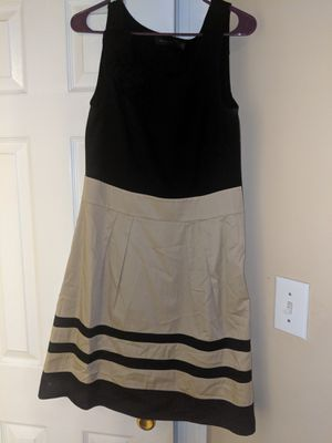 Limited dress size 10. Color block taupe and black. for Sale in Durham, NC