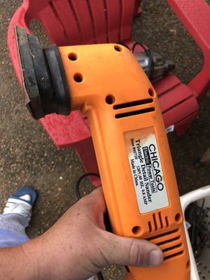 Electric power tool triangle detail sander 120v 0.8 AMP for Sale in Knoxville, TN