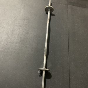 Curl Bar With Weights for Sale in Casa Grande, AZ