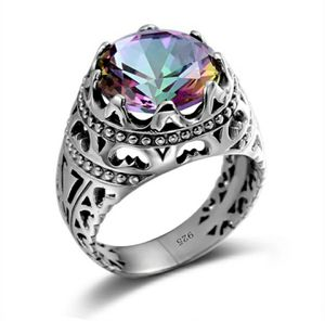 925 Sterling Silver Opal Zircon Ring Size 6-10 for Sale in Wichita, KS