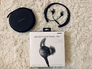 Bose Quiet Control 30 (QC 30) wireless headphones for Sale in Essex Fells, NJ