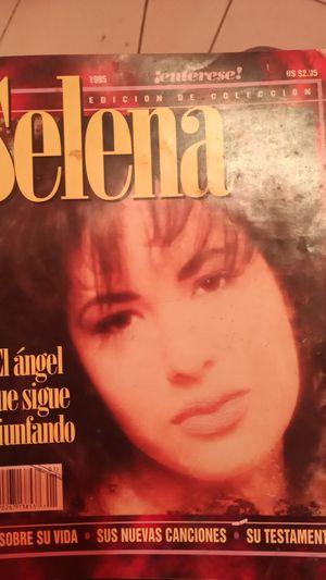 Selena magazine from 1995 in Spanish for Sale in San Antonio, TX