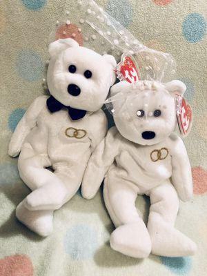MWMT TY Beanie Baby MR & MRS Bride & Groom for Sale in Olathe, KS