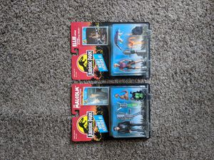 Vintage Jurassic Park action figures Ian Malcom and Elle satler for Sale in Long Beach, CA