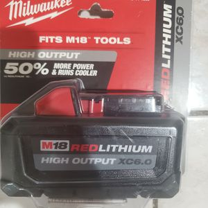 Milwaukee 6.0 Battery FIRM for Sale in Cerritos, CA