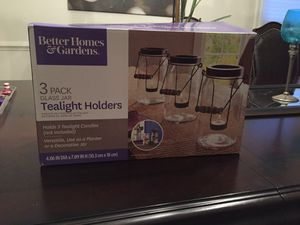 Brand new - in box tea light holders for Sale in Manassas, VA