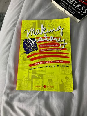 Making History: A Personal Approach to Modern American History Revised 2nd Edition for Sale in Glendora, CA