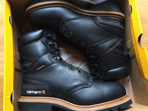 Brand New Carhartt Men's CML8131 8 Inch Waterproof Soft Toe Logger Work Boots for Sale in Camas, WA