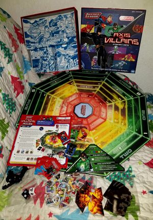 "Justice League ""Axis of Villains"" Wonder Forge Hero Strategy Octagon Board Game for Sale in Dover, FL"