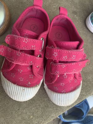 Cat and Jack Toddler Shoes Size 7 for Sale in Washington, DC