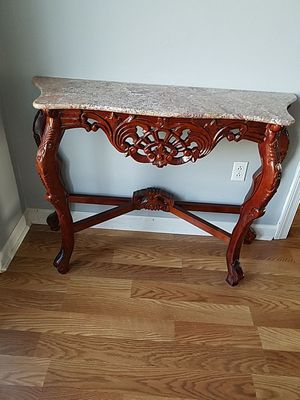 Hall Table with granite top for Sale in Dexter, GA