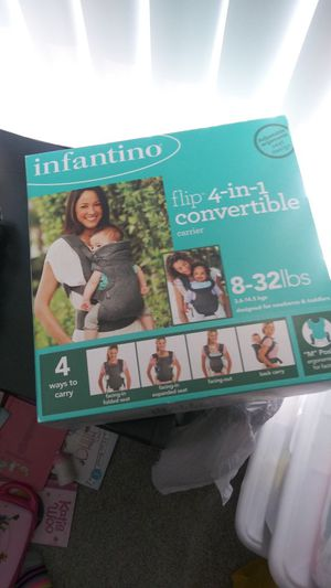 Infantino baby carrier never used for Sale in Sunnyvale, CA