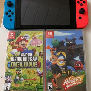 switch and 2 games for Sale in Palo Alto, CA