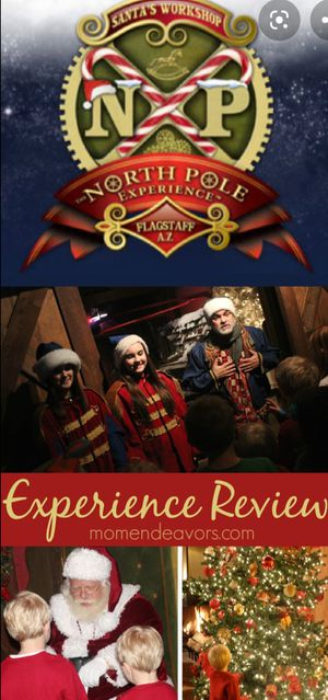 Chritsmas experience, tickets for Santa's Workshop Flagstaff AZ for Sale in Odessa, TX