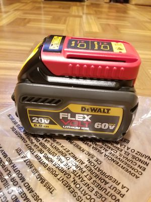 Dewalt Battery 6.0AH Flexvolt 60V for Sale in Norwalk, CA