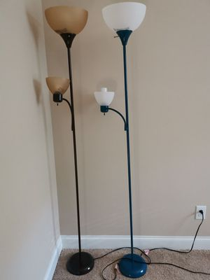 2 Mainstays 72'' Combo Floor Lamp for Sale in Apex, NC