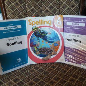 Bob Jones 6th Grade Homeschool Spelling Curriculum for Sale in Euless, TX