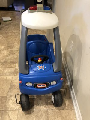 Little tikes police 911 cozy coupe for Sale in Raleigh, NC