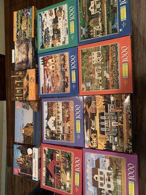 1000pc puzzles for Sale in Stockton, CA