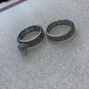 Wedding Ring Set for Sale in Tucson, AZ