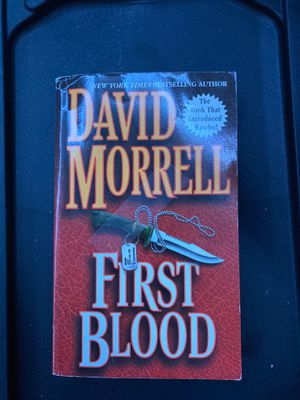 First Blood book for Sale in Oakley, CA