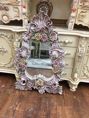 Italian Capodimonte Mirror. Check my other items for Sale in Los Angeles, CA