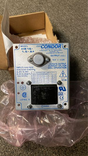 Condor Power supply. for Sale in Chardon, OH