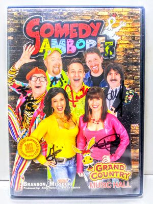 Comedy Jamboree Autographed DVD for Sale in Garland, TX