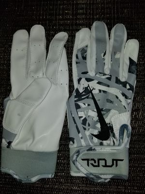 Brand New Nike Trout Edge White Camo Batting Gloves Adult Small, Medium, Large -- Also Other colors posted for Sale in West Covina, CA