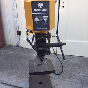 Rockwell Multi Angle Heavy Duty Drill Press for Sale in Visalia, CA