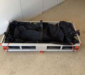 Haul Master Cargo carrier and carrier cover - new for Sale in Corona, CA
