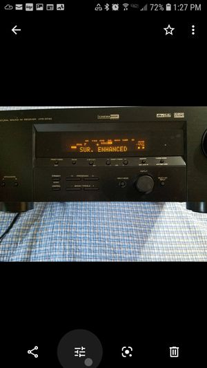 Yamaha Stereo Reciever NOT SURROUND for Sale in Austin, TX