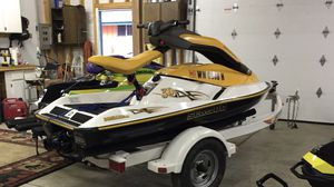 Seadoo 3D with single place trailer for Sale in Easton, WA