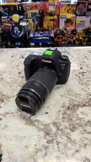 Canon EOS 6D Mark ii (Gen 2) with 75-300mm lens for Sale in San Bernardino, CA