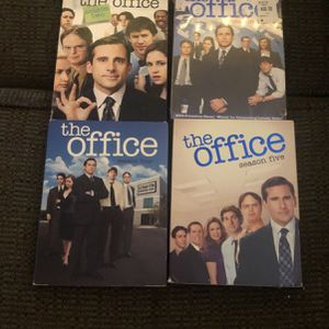 Seasons 2, 3, 4, and 5 of The Office DVD set for Sale in St. Louis, MO